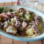 insalata di polpi e patate