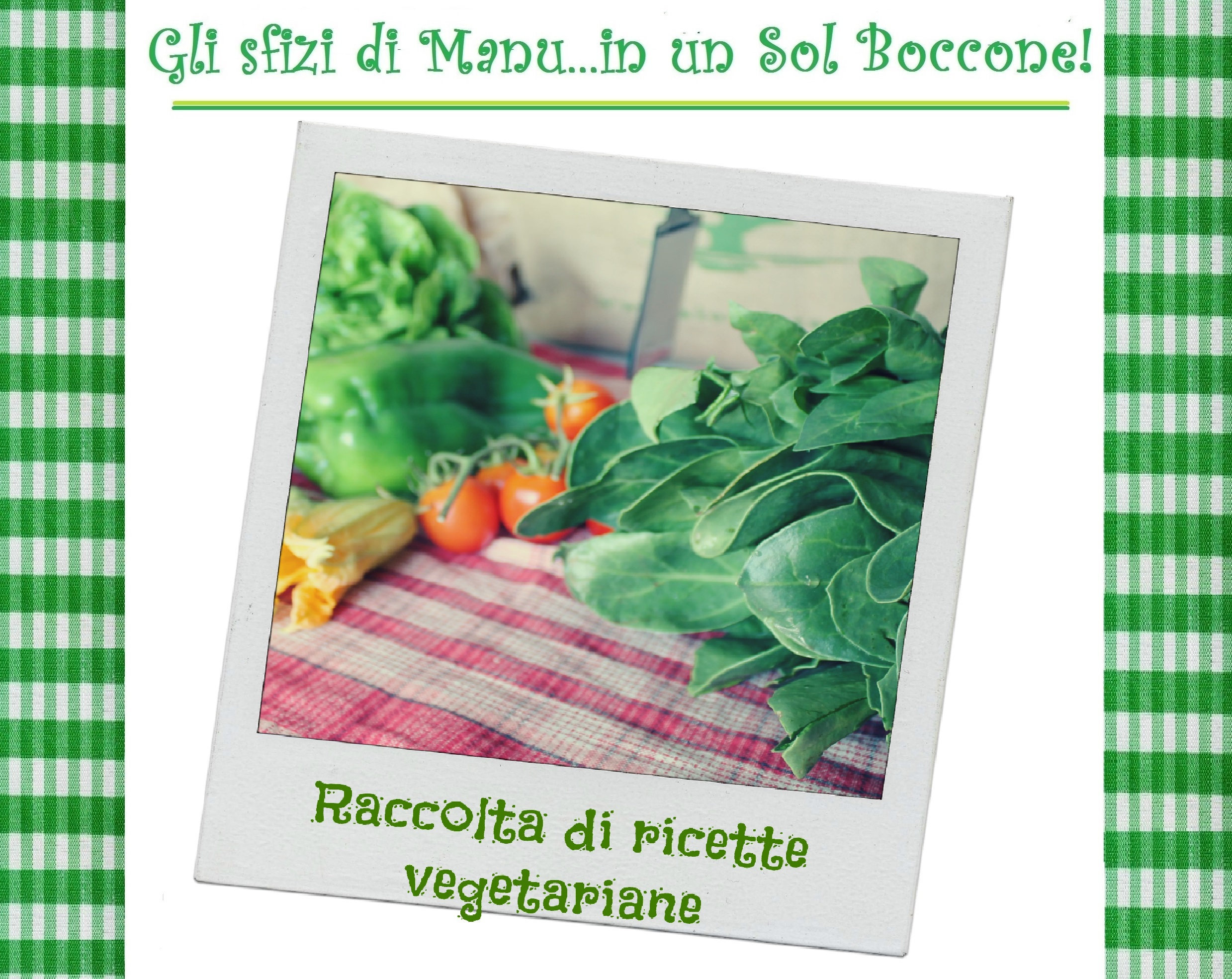 raccolta ricette vegetariane