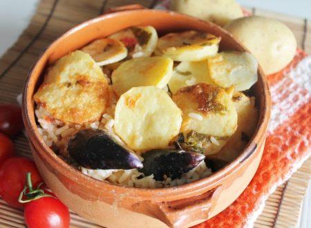 Patate, riso e cozze alla barese