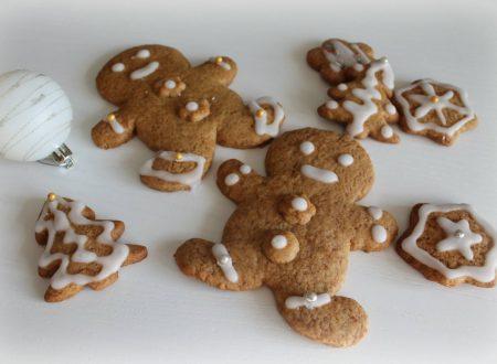 Biscotti pan di zenzero integrali, ricetta di Natale