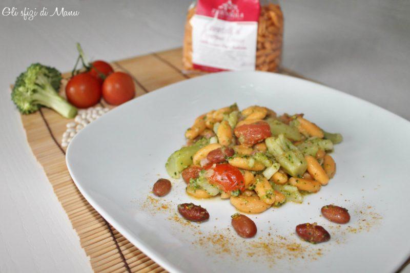 Cavatelli al peperone crusco con broccoli e fagioli