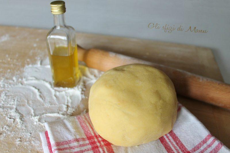 Pasta brisé con olio extravergine di oliva