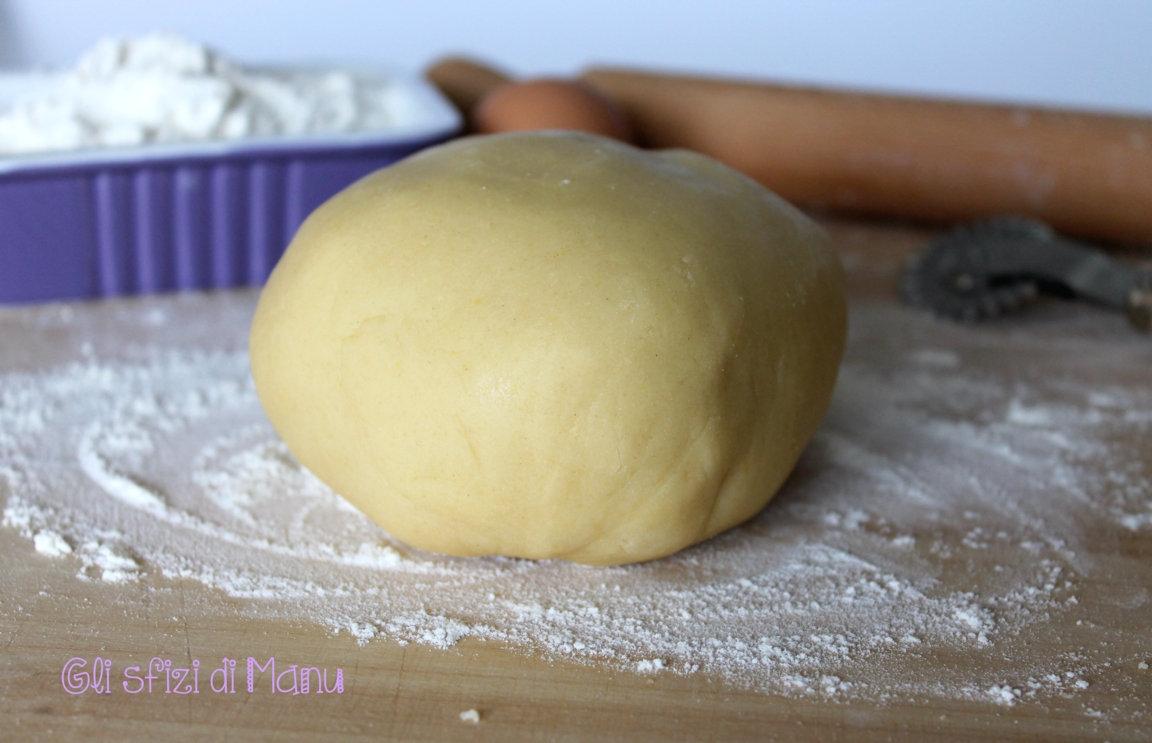 Pasta frolla friabile con poco burro | Gli sfizi di Manu in un Sol Boccone