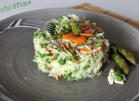 Riso alla cantonese light vegetariano