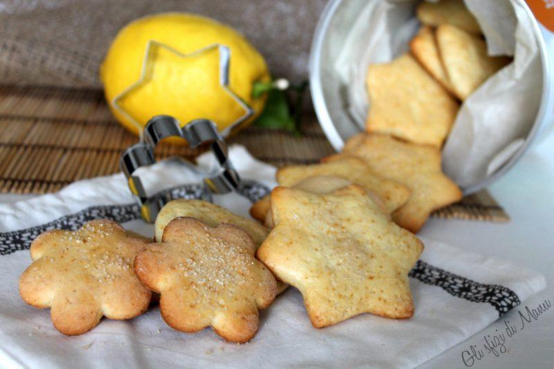 Biscotti allo yogurt e limone