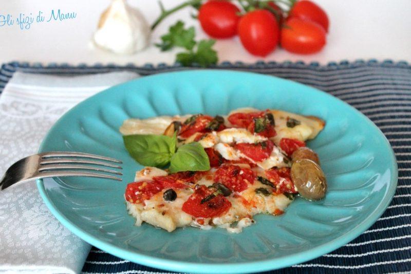 Platessa alla pizzaiola