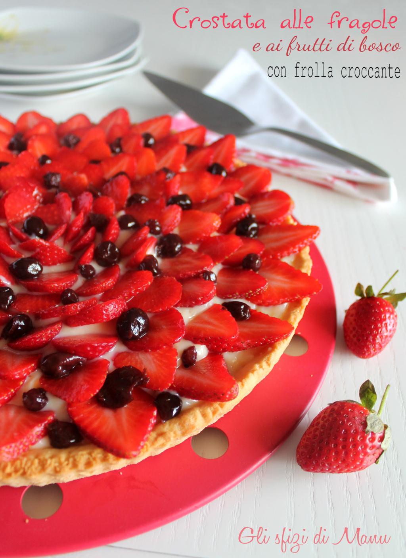 crostata alle fragole e frutti di bosco 3