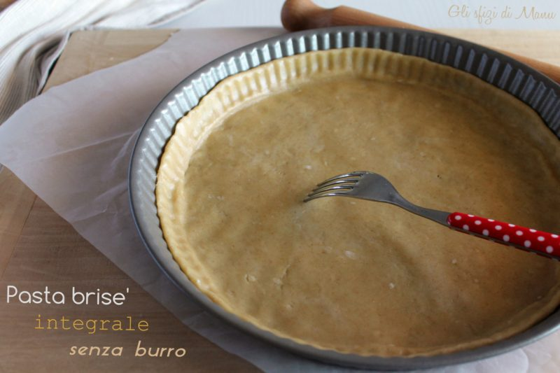 Pasta brisé con farina integrale