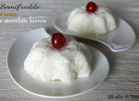 Semifreddo al cocco e cioccolato bianco