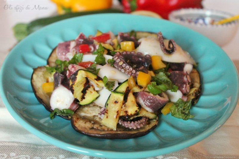 Insalata di mare e verdure, ricetta estiva