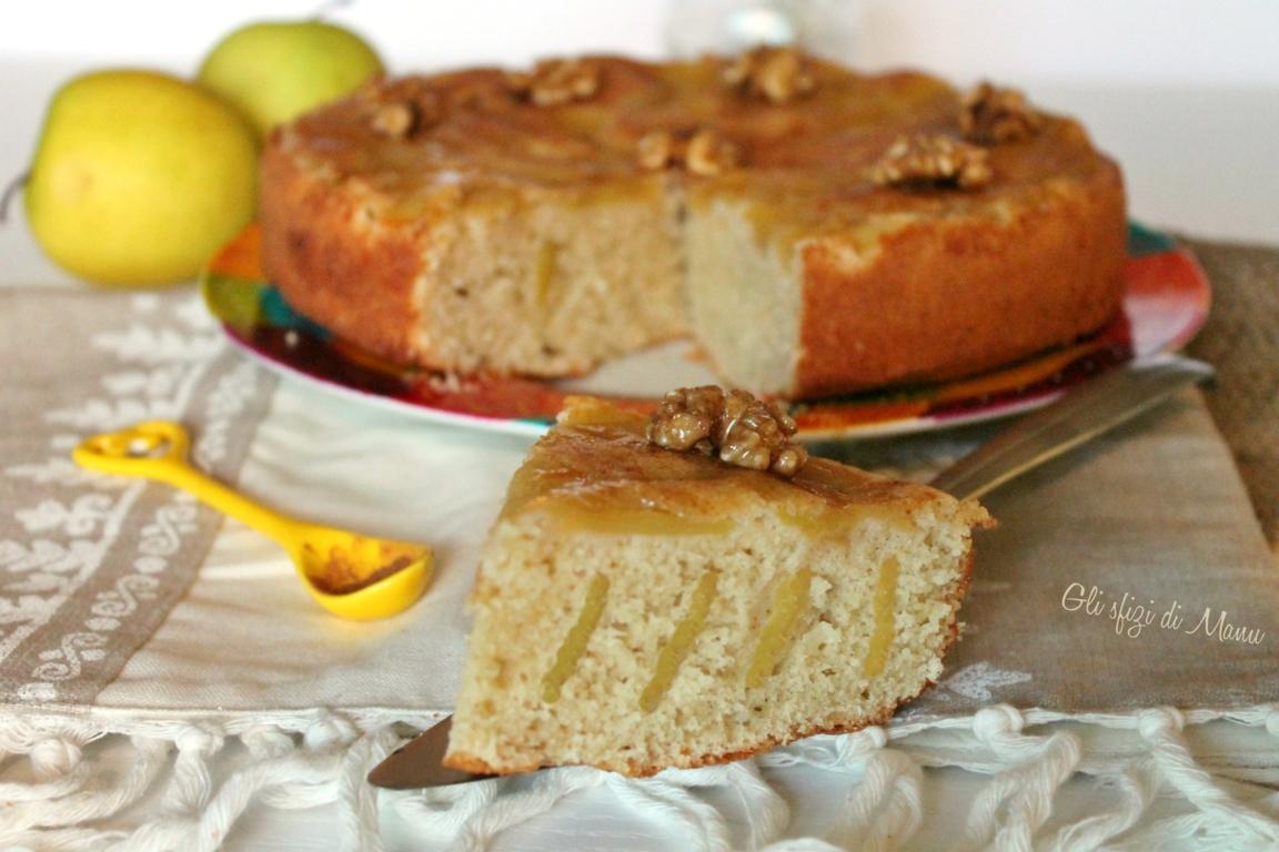 torta alle mele rovesciata