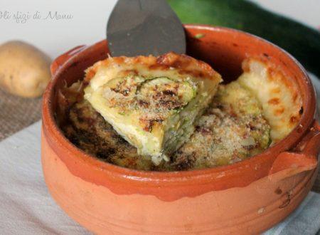 Tortino di zucchine e patate