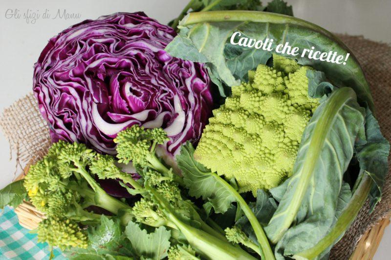 Cavoli che ricette: idee per cucinare cavoli, verze e broccoli.