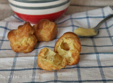 Pasta choux per bigné, zeppole ed eclairs