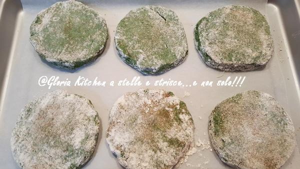 Spinacine di Pollo con Cuore di Scamorza di Gloria KitchenUSA
