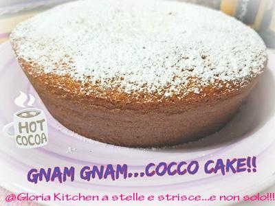 Cocco PlumCake di Gloria KitchenUSA