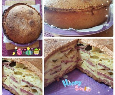 Torta Rustica Chiena Napoletana di Pasqua