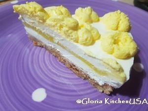 Cheesecake allo Yogurt con Sorpresa al Limone