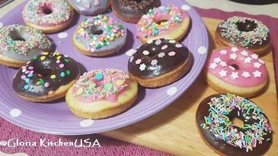 Donuts Leggeri al Forno