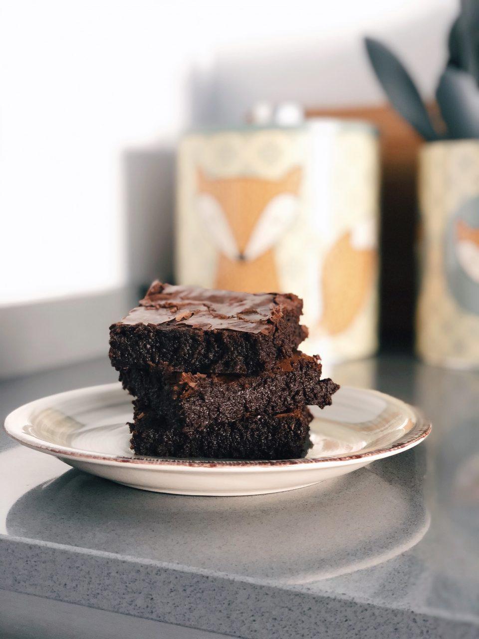 brownies senza glutine vegani