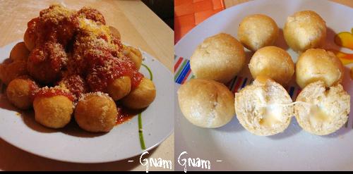 Chicche Golose | Palline di pizza fritta