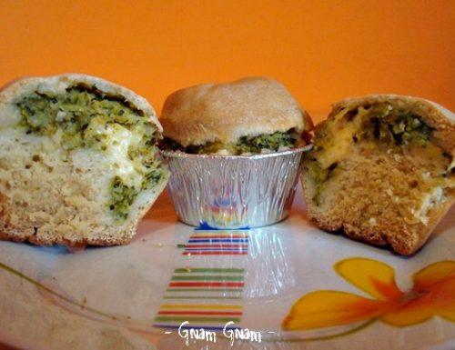 Muffins con cuore cremoso