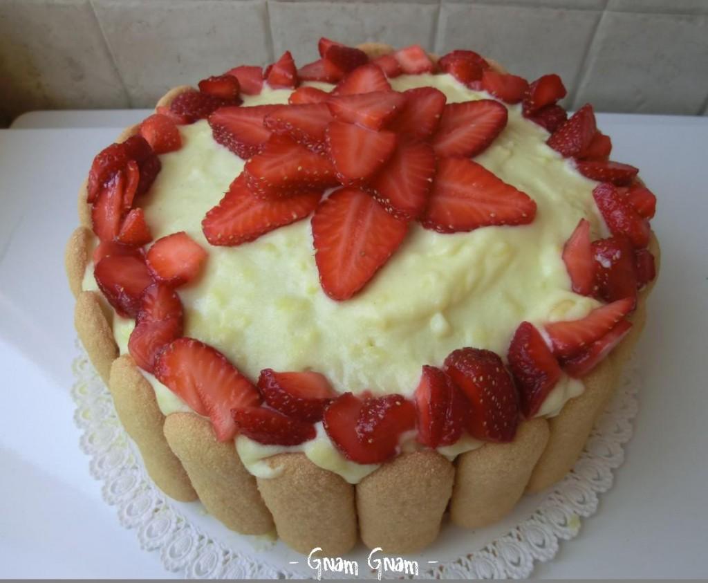 torta-fragole-Gnam-Gnam-