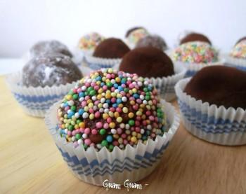 palline salame cioccolato
