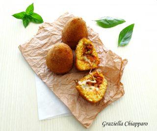 arancine arancini siciliani