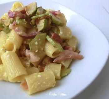 pasta carbonara zucchine