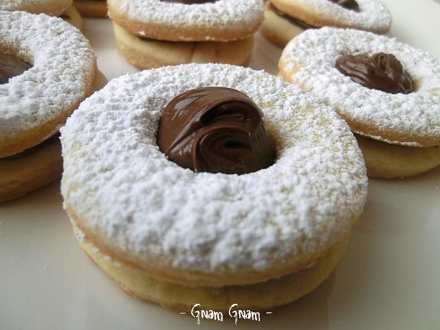Biscotti Occhio Di Bue Alla Nutella Ricetta