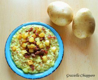 risotto salsiccia e patate