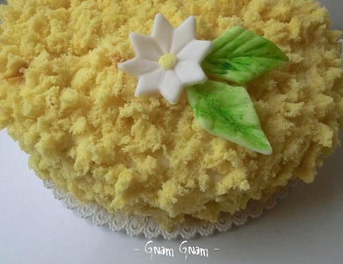 Torta mimosa | Il dolce dell'8 marzo