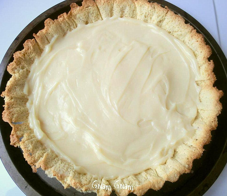 crostata crema bianca