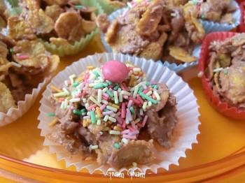 dolcini corn flakes e cioccolato2