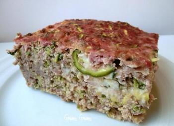 timballo di carne e zucchine