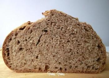 pane farina farro noci lievito naturale