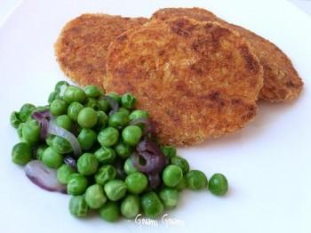 cotolette vegane patate e zucca