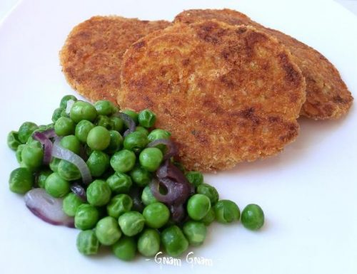 Cotolette vegane con zucca e patate   Ricetta