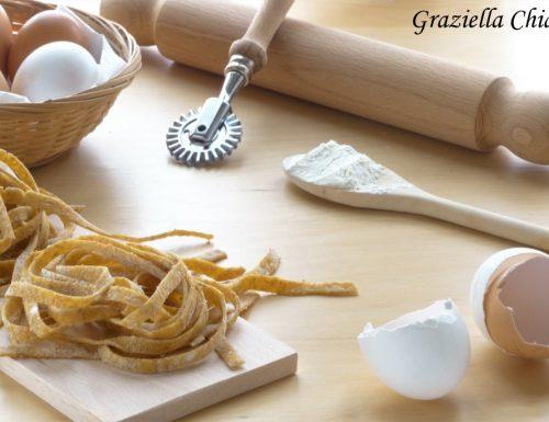 Tagliatelle integrali fatte in casa | Ricetta