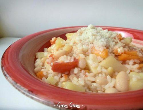 Minestra di riso e fagioli | Ricetta