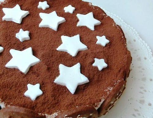 Torta pan di stelle   Ricetta veloce senza cottura