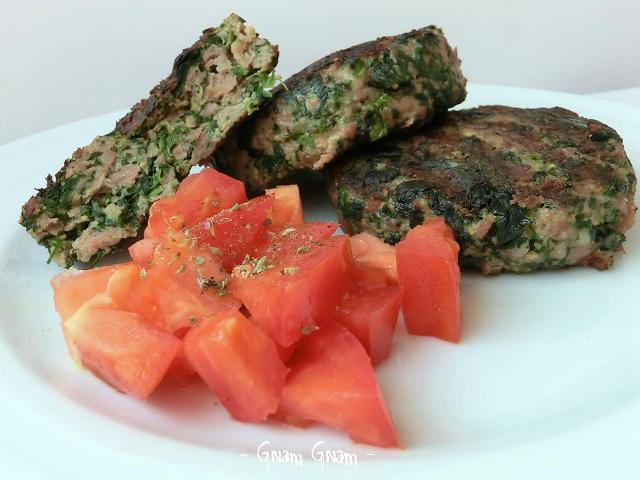 Estremamente Hamburger di carne e spinaci | Ricetta XK98