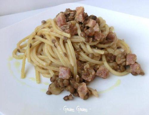Pasta con cotechino e lenticchie | Idea riciclo