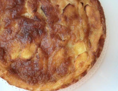 Torta di mele al cucchiaio | Ricetta