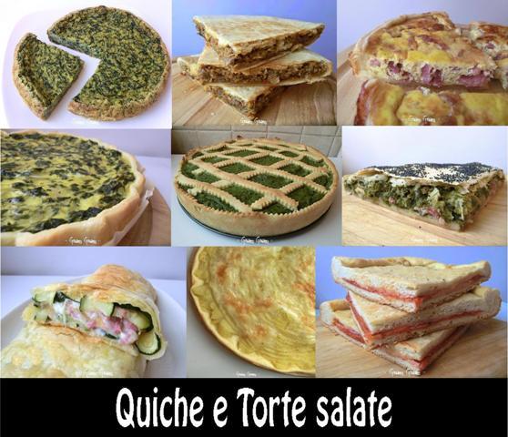 Quiche E Torte Salate Raccolta Ricette