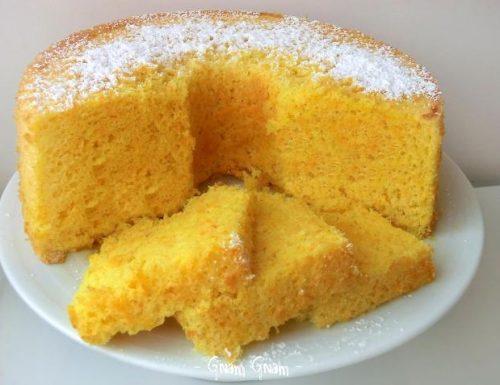Ciambellone gusto ACE (arancia, carota, limone)   Ricetta