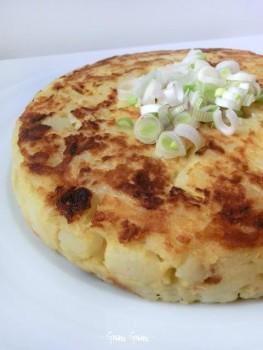 farifrittata patate e cipollotto