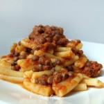 pasta con ragù di lenticchie
