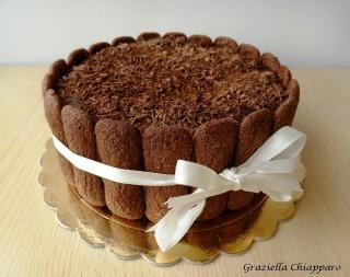 charlotte panettone cioccolato